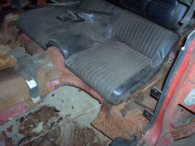 1970 ford mustang fastback floor repair