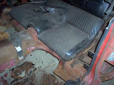 1970 ford mustang fastback floor repair