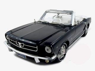 1964 1/2 mustang convertible black