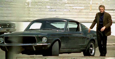 1968 mustang bullitt steve mcqueen