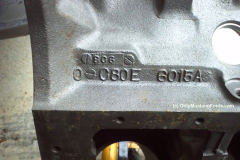 1968 ford 302 block casting number