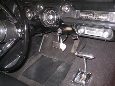 Restored Mustang Interior