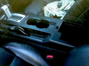 2005 Mustang console e-brake adjustment nut