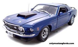 1969 Mustang Boss 429 die cast model