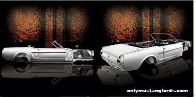 dynacorn 1965 mustang shell
