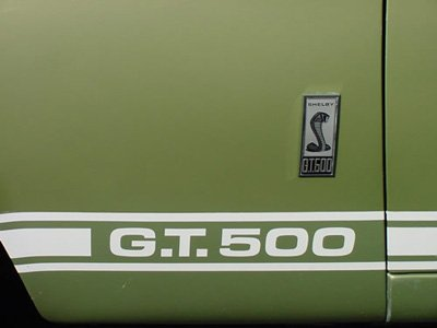 1967 shelby lime gold