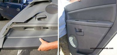 Plastic Quarter Panel Repair