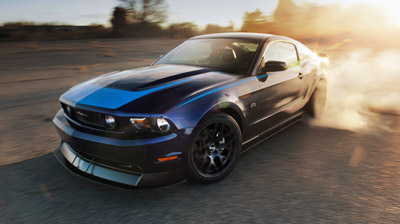 2011 ford mustang rtr burnout