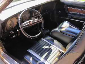 1971 Mustang seats