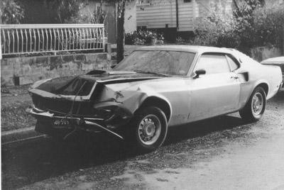 1969 mach 1 cobrajet salvage