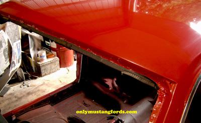 1965 Mustang Headliner Installation Part 2