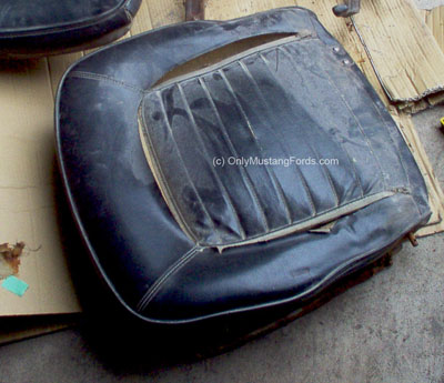 1965 Ford mustang seat cover replacement