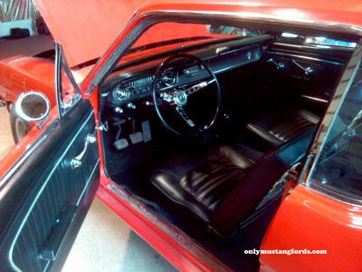 1965 mustang interior restoration
