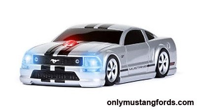 silver mustang gt computer mouse
