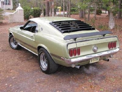 1969 Mustang Mach 1 - Southeastern North Carolina Regional Mustang Club Member Car
