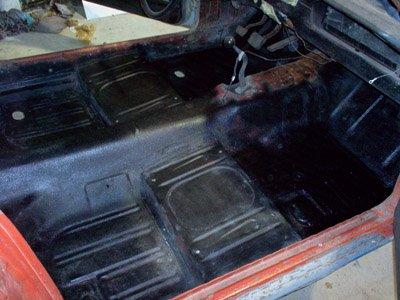 rust proofed floor