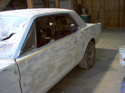 mustang paint jobs