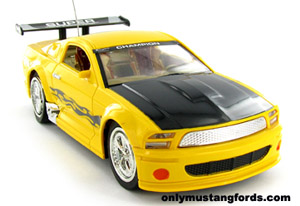kids mustang rtr radio control car